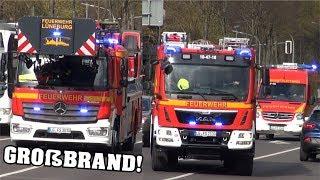 Download [GROßBRAND in Seniorenstift in Altstadt] *VOLLALARM FEUERWEHR LÜNEBURG* + DLK FF Bardowick & Polizei Video