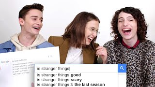 Download Millie Bobby Brown, Finn Wolfhard & Noah Schnapp Answer the Web's Most Searched Questions | WIRED Video