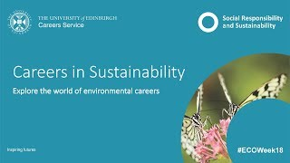 Download Careers in Sustainability 2018 Video