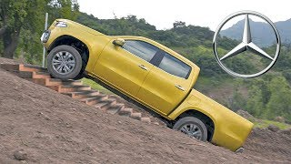 Download Mercedes X-Class (2018) Off-Road Test Drive Video