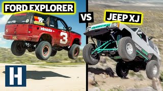Download Build & Battle Off-Road FINALE: Jumps, Crawls, Climbs, Jeep XJ vs Ford Explorer. Who Will Survive? Video