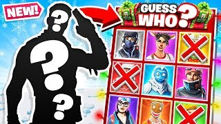 Download GUESS WHO *NEW* Game Mode in Fortnite Battle Royale Video