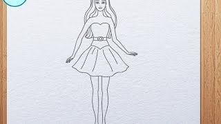 Download How to draw Barbie Video