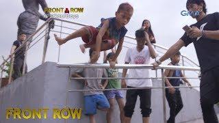 Download Front Row: Binata, nagtuturo ng Parkour sa mga street children sa Luneta Video