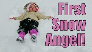 Download First Snow Angel- February 21, 2015 ItsJudysLife Vlogs Video