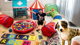 Download BUILDING MY NEW PUPPY HER DREAM HOUSE!! **insane** Video