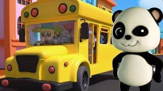 Download Baby Bao Panda | roda di bus | lagu untuk bayi | Sajak anak-anak | Wheels On The Bus Rhyme Video