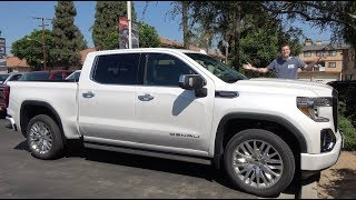 Download Here's Why the 2019 GMC Sierra Denali Is the King of the Luxury Truck Video