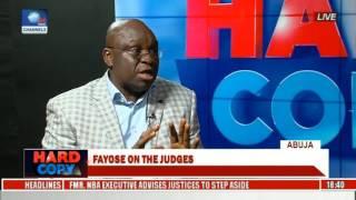 Download Hard Copy: Fayose Speaks On Judges' Arrest & Released Chibok Girls Video