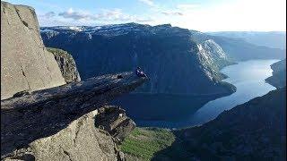 Download DJI - Trolltunga, Preikestolen and Kjeragbolten 2017 - Drone Video Video