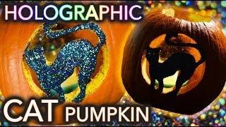 Download Holographic Cat Pumpkin Carving | Threadbanger (un)box(ing) Video