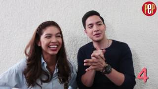 Download Alden Richards and Maine Mendoza play ″I Like You Meter″ Video