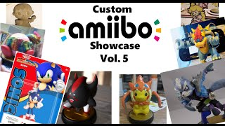 8-bit Mario Custom Amiibo! (They are making an official one too