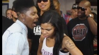 Download Gay female rapper pulls out a strap-on in rap battle | AHAT | Stud Phamous vs Zan Video