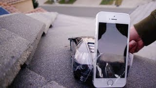 Download RC Lamborghini + iPhone 5S Attached Drives Off Roof Video