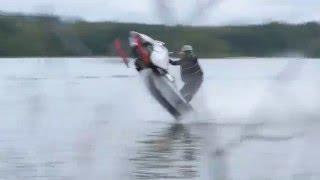Download Snowmobile Vs. Jetski watercross BIISONIMAFIA Video