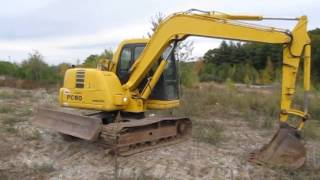 Download KOMATSU PC60-7E Video