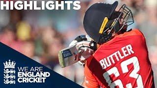 Download Buttler Leads England To Huge Score | England v Australia IT20 2018 - Highlights Video