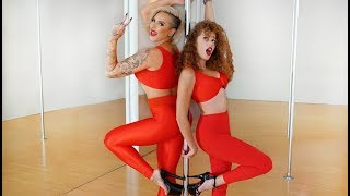 Download Pole Dancing with the YouTube Stars Mahogany Lox Video