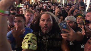 Download Matt Hardy leads a Woken parade on Bourbon Street Video