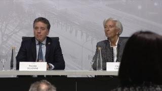 Download Conferencia de prensa del ministro de Hacienda de la Argentina y la Directora gerente del FMI Video