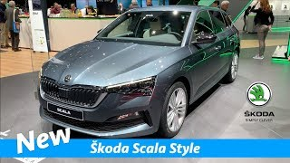 Download Škoda Scala Style 2019 - first look inside | Geneva Auto Show 2019 Video