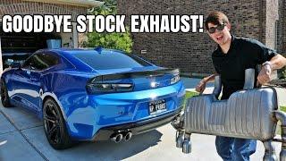 Download NEW EXHAUST! My Camaro GETS LOUD! Video
