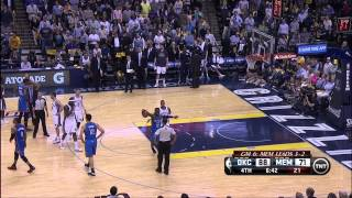 Download Zach Randolph suspended for punching Steven Adams: Thunder at Grizzlies, Game 6 Video