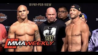 Download Robbie Lawler vs. Donald 'Cowboy' Cerrone: UFC 214 Weigh-in and Staredown Video