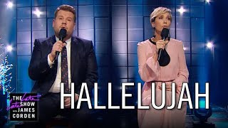 Download Kristen Wiig Struggles with 'Hallelujah' Video