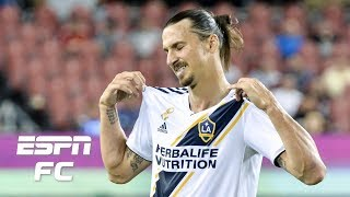 Download Zlatan Ibrahimovic scores 500th goal, LA Galaxy fall to Toronto FC | ESPN FC Video