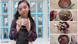 Download 4 MUG CAKE RECIPES! Video