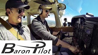 Download Baron Pilot Flying With MrAviation101 Video