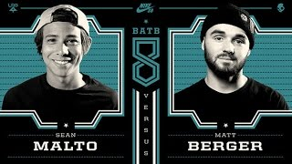Download Sean Malto Vs Matt Berger: BATB8 - Round 1 Video