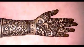 Download Beautiful Mehndi Designs Bridal Mehndi tutorials-Bridal Henna Designs For Full Hands-2 Video