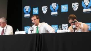 Download Dana Altman, Casey Benson, Dylan Ennis recap ASU win Video