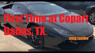 Download FIRST TIME AT COPART DALLAS EXPERIENCE (LAMBO, VIPER, i8, Things to Know) Video