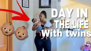 Download Day In The Life With Newborn Twins ONLY👶🏽👶🏽 Video
