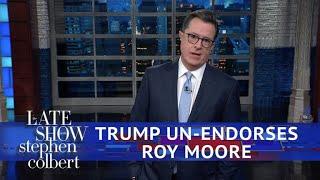 Download Trump Walks Back His Roy Moore Endorsement Video