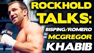 Download Luke Rockhold Breaks Down McGregor vs. Khabib, Bisping vs. Romero + More! Video