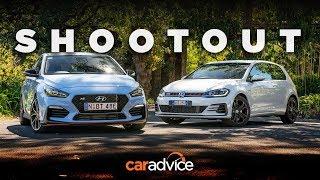 Download DRAG RACE/Comparison: i30 N v Golf GTI - Hyundai v Volkswagen review Video