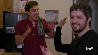 Download The Chris Gethard Show - Robby Hoffman and Queer Eye Star Antoni Porowski Make Over Patrick Cotnoir Video