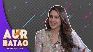 Download Sara Ali Khan on ways to win her heart II KEDARNATH INTERVIEW II AUR BATAO Video