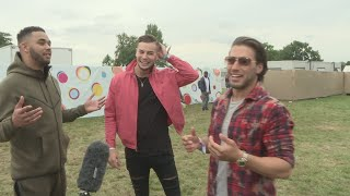 Download V Festival: Love Island's Chris and Kem on their new TV show Video