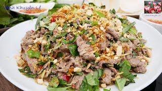 Download BÒ TÁI CHANH - Cách làm món Gỏi Bò thơm lừng - Cách trồng Rau Răm trong Mùa Đông by Vanh Khuyen Video