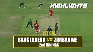 Download Bangladesh vs Zimbabwe Highlights    1st ODI    2nd Innings    Zimbabwe tour of Bangladesh 2018 Video