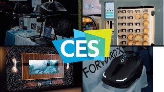 Download Cool Stuff from CES Unveiled and Samsung (CES 2019 Day 1) Video