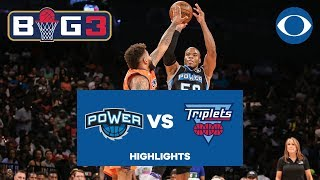 Download Corey Maggette CALLS GAME, tells Triplets to go home after BIG3 win | CBS Sports Video