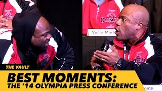 Download Best Of Mr. Olympia 2014 Press Conference | Generation Iron Video