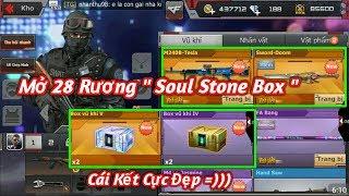 Download CF Mobile/CF Legends | Đập Hộp 28 Rương ″ Soul Stone Box ″ Và Cái Kết Cực Đẹp Ahihi | Tường Trần CFM Video